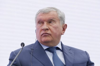 Rosneft's Sechin says no watershed in oil market, U.S. shale oil a risk