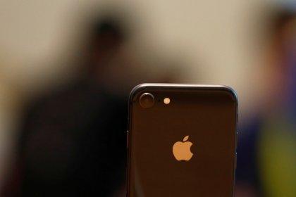 """Demanda """"anêmica"""" do iPhone 8 pressiona ações da Apple"""