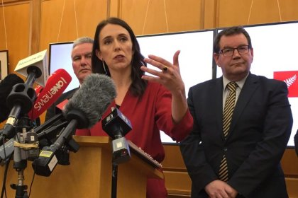NZ Prime Minister-elect Ardern focuses on final touches in coalition deal, NZ dollar sinks