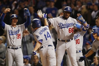 Dodgers beat Cubs in Game Five to reach World Series