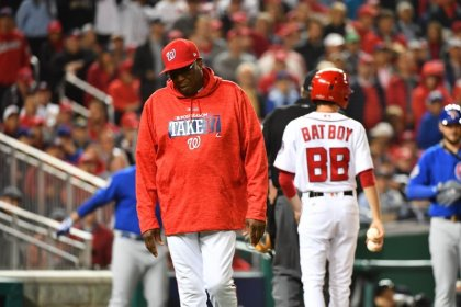 Baker out as Nationals manager after two seasons