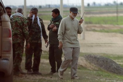 قائد إيراني وجه تحذيرات شديدة اللهجة لأكراد العراق للانسحاب من كركوك