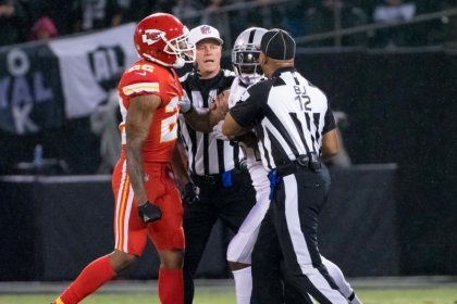 Oakland Raiders' Lynch suspended one game for pushing official