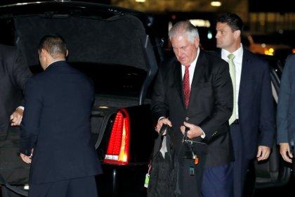 Tillerson lands in Riyadh at start of Gulf, South Asia tour