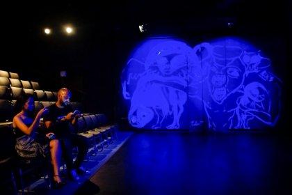 Grafiti como telón de fondo agrega crítica social a festival de teatro en Cuba