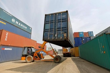 India's trade deficit widens to near 3-year high in October