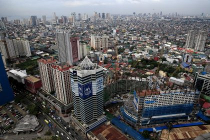 Philippines third-quarter economy grows at fastest pace in a year