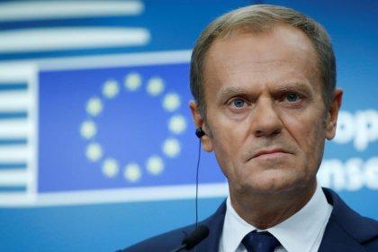 Tusk, da UE, vai pressionar May na sexta-feira sobre oferta para Brexit, diz fonte