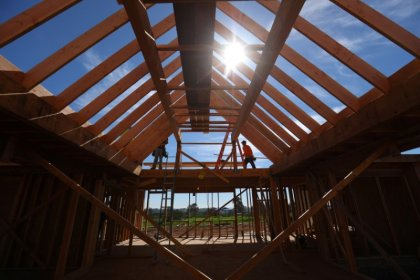 U.S. housing starts vault to one-year high; permits increase
