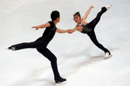 With ticket to Olympics, North Korean skating pair are 'a rough diamond'