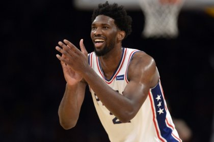 Sixers' Embiid thriving in role as likeable villain