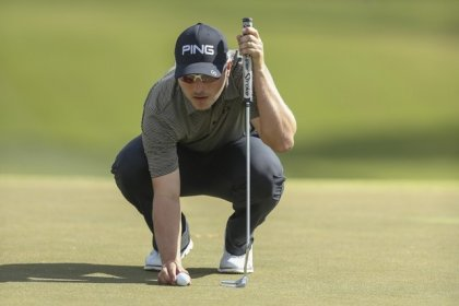 Rookie Cook takes lead at RSM Classic