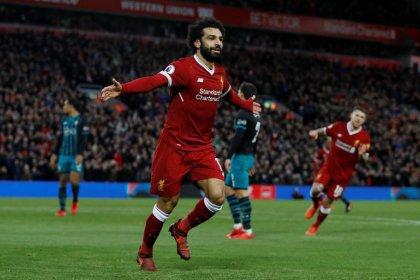 Liverpool's Klopp backs Salah to shatter goal-scoring record