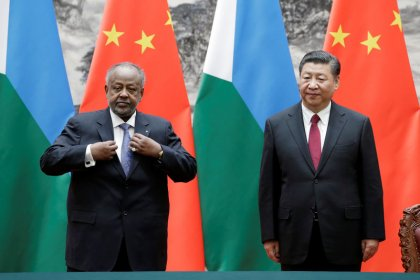 China grants economic aid to Djibouti, site of overseas military base