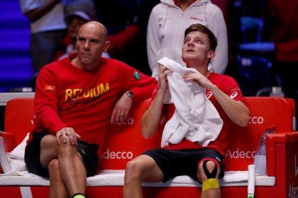 Tennis: No stress as Goffin beats Pouille to put Belgium ahead