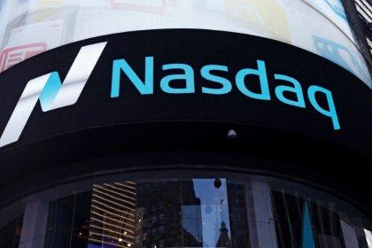 Nasdaq falters as investors flee tech for banks