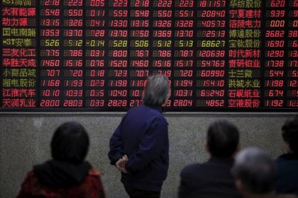 Bears and bulls lock horns over China's blue chips