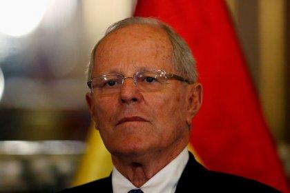 Lima stock index falls after Kuczynski linked to Odebrecht money