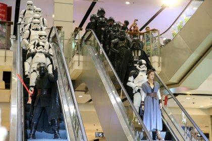 Filme 'Os Últimos Jedi' arrecada U$45 milhões em estreia norte-americana