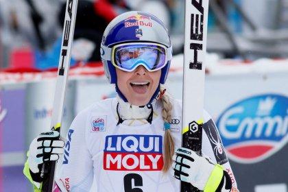 Alpine skiing: Vonn enjoys first World Cup win of season