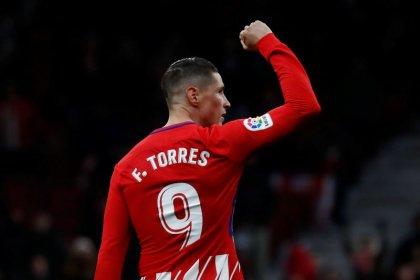 Gol de Torres coloca segundo en la Liga al Atlético de Madrid tras tropiezo del Valencia