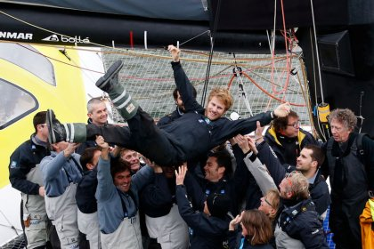 Sailing: Frenchman Gabart sets new round-the-world record