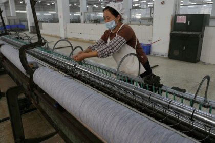 China December factory growth eases as tough pollution measures bite