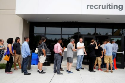 U.S. job growth cools as labor market nears full employment; wages up