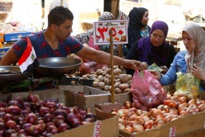 التضخم السنوي لأسعار المستهلكين في مدن مصر يهبط إلى 21.9% في ديسمبر