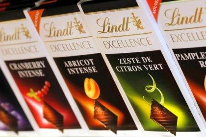 Продажи производителя шоколада Lindt выросли на 4,8% в 2017 года