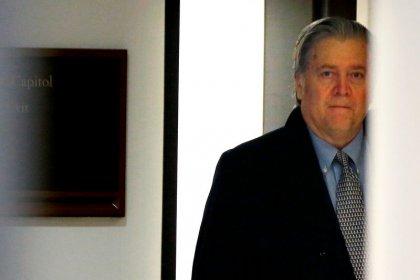 Ex-Trump adviser Bannon subpoenaed in special counsel Russia probe