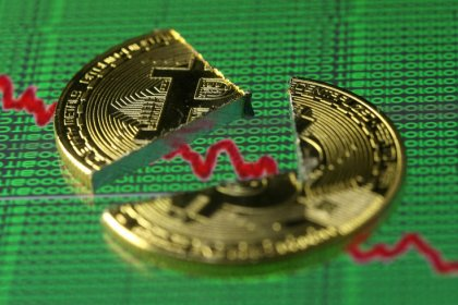 Bitcoin slumps to $10,000, half its peak price, as regulatory fears grow