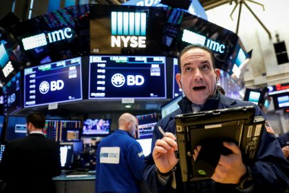 World stocks climb as Wall St. rallies; dollar steadies