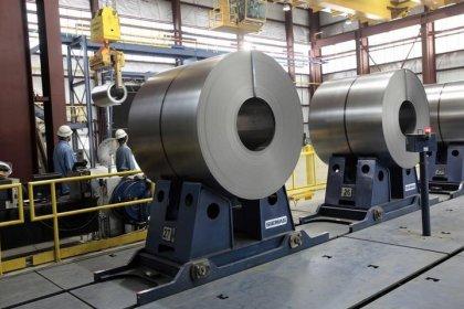 Russa Severstal diz que produção de aço subiu 3% no 4ºtri