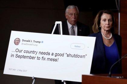 No deal reached as Schumer, Trump meet to avert government shutdown