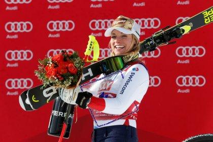 Alpine skiing: Switzerland's Gut claims first win since injury