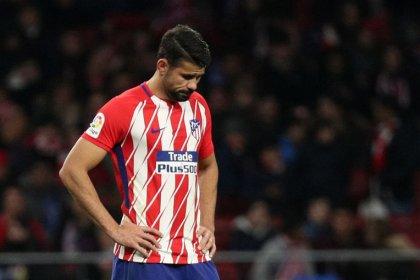 Diego Costa sufre una elongación muscular