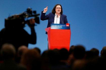 Nahles - SPD wird mit der Union verhandeln bis es quietscht