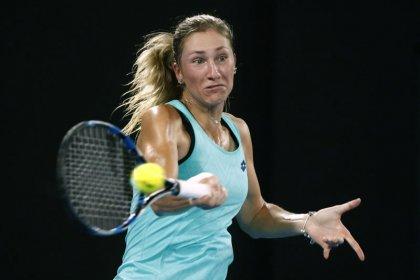 Tennis: Contender Svitolina races past Allertova