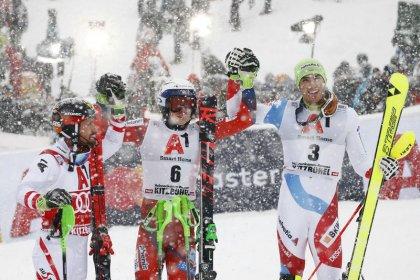 Alpine skiing: Kristoffersen wins at last to end Hirscher's run