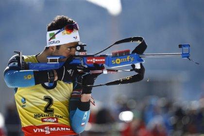 Biathlon: Frenchman Fourcade wins last race before Olympics