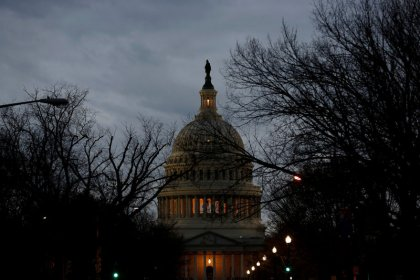 Government workers begin shutdown as Senate vote looms
