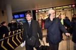 El ex presidente catalán Carles Puigdemont llega a Dinamarca