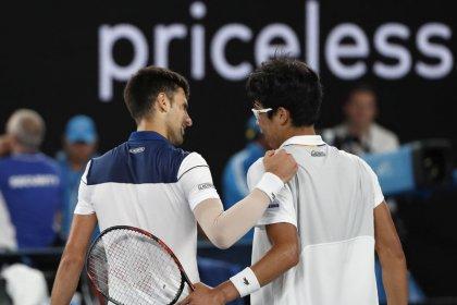 Chung stuns Djokovic in Australian Open