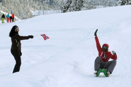 Austrian luge race aims to speed up integration of African migrants