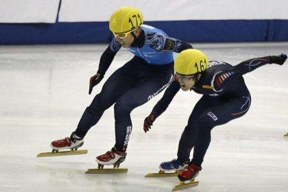 Russia short track star Ahn barred from 2018 Games: TASS