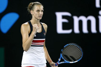 Tennis: It's all about me, says cucumber cool Pliskova