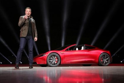 Tesla ties CEO Musk's compensation to company's performance