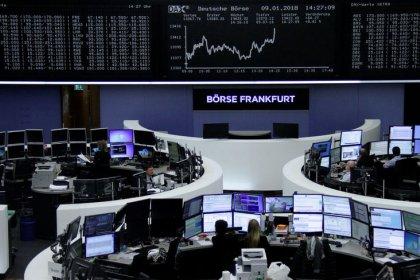 Les Bourses en Europe en désordre, les ressources de base pèsent