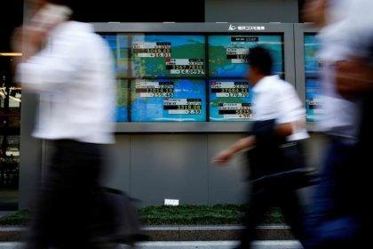 Tech stocks reach record, bond yields rise again